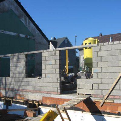 Maueraufbau