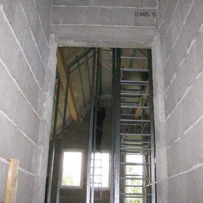Dachausbau mit offenem Ständerwerk
